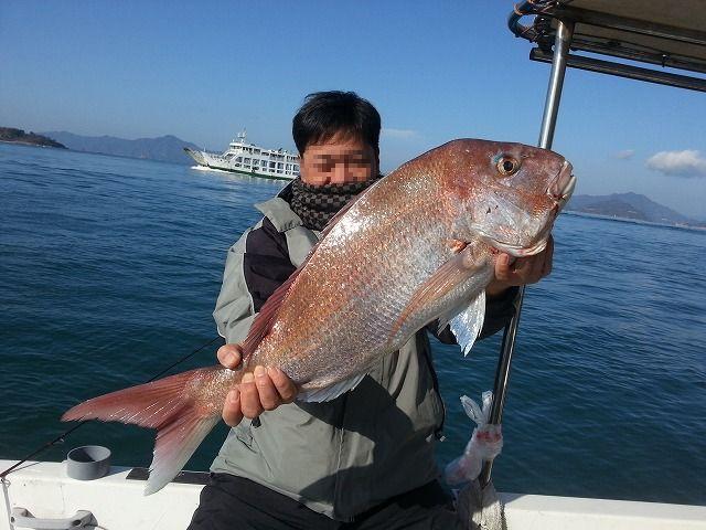 初釣り タイ