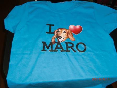I❤ MAROのTシャツ、ママの