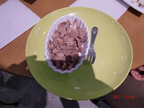 プティシアンのお肉