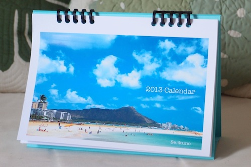 カレンダー全体