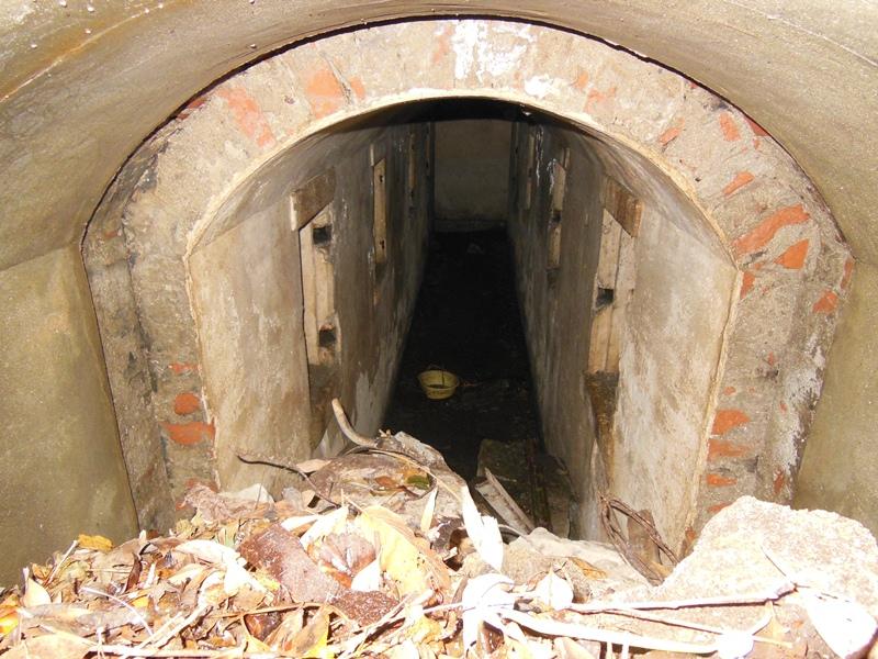 地下弾薬庫