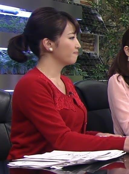 相内優香 巨乳横乳 (20140209)