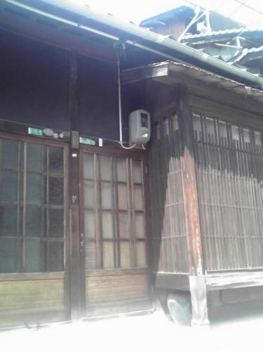 千光寺新道沿いの家屋