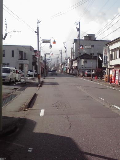 越中八尾駅前通り1