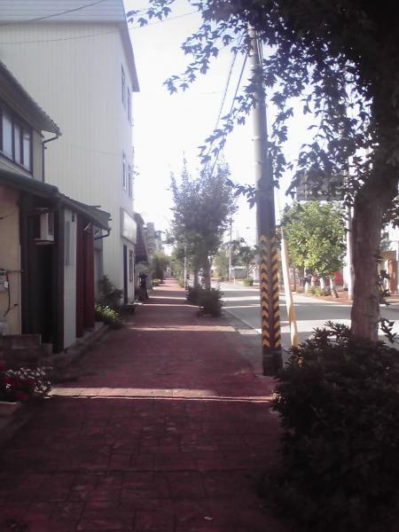 飯山市南町の町角2