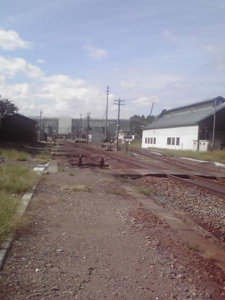 飯山線の線路際の風景2
