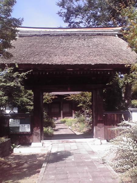 西敬寺山門