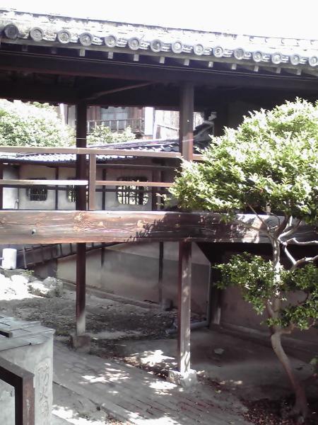 慈観寺の渡廊下