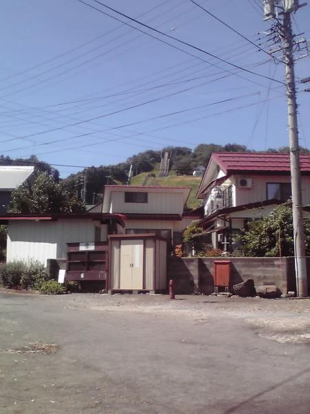 飯山シャンツェの斜面