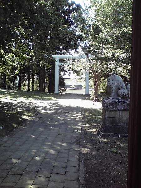 葵神社の鳥居2
