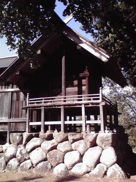 葵神社の殿舎