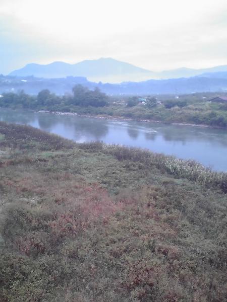 千曲川河畔風景