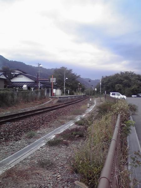 上今井駅風景