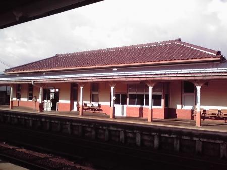 越中八尾駅舎
