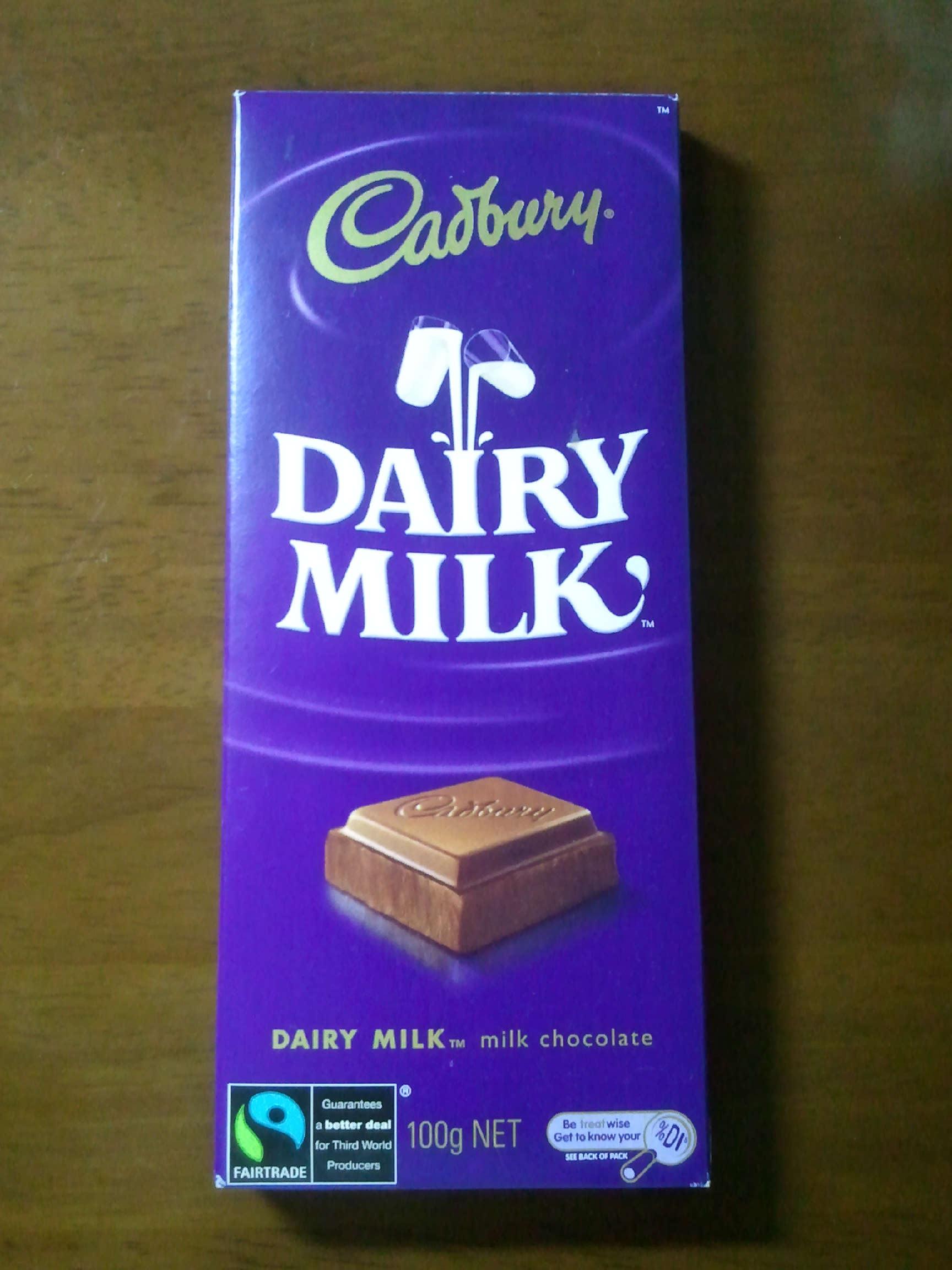 Cadbury Dairy Milk small pack