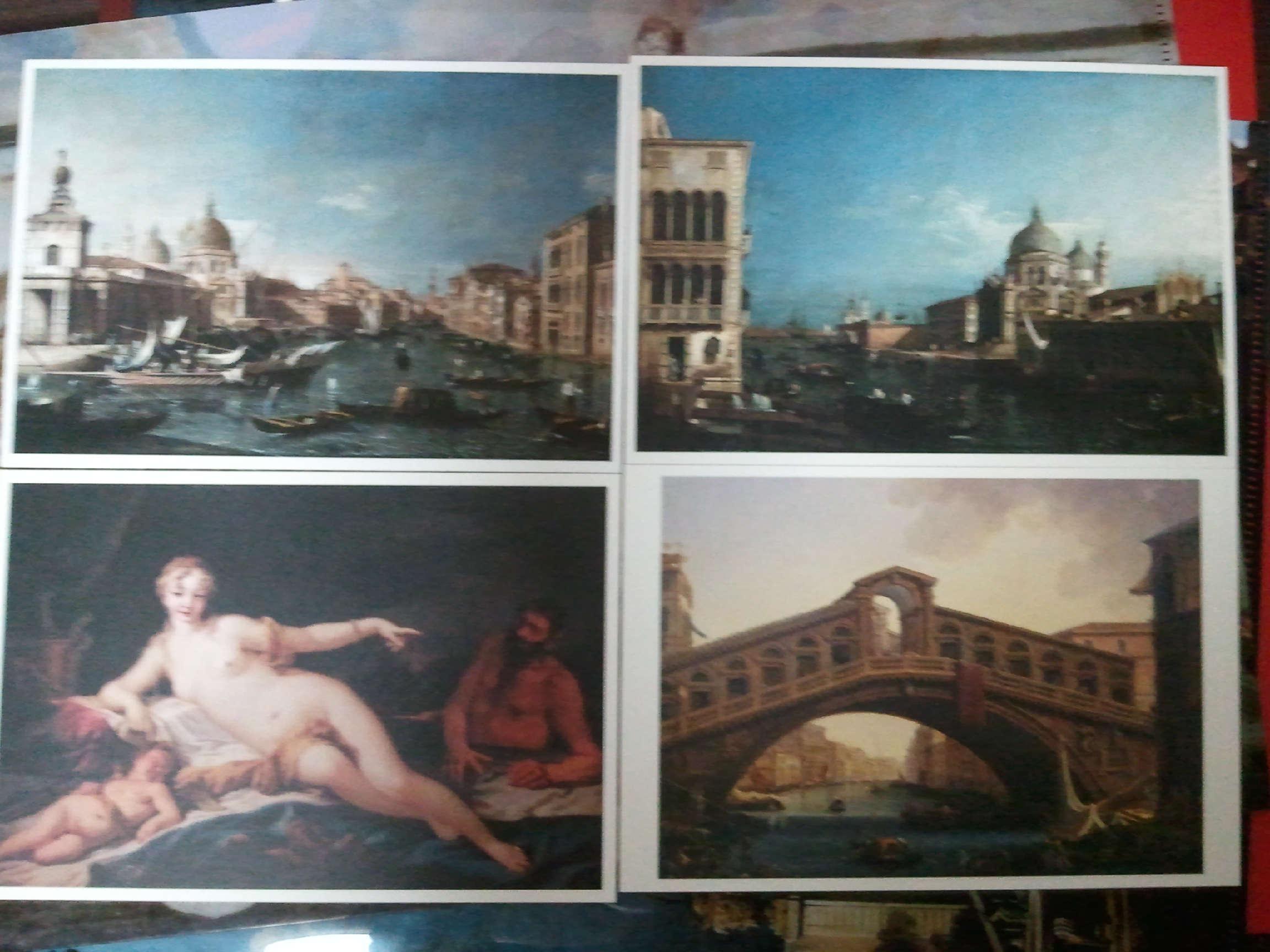 ヴェネツィア展ポストカード