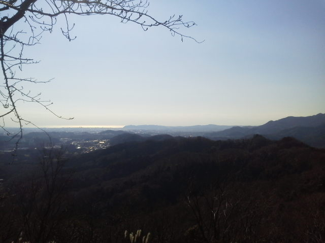 白山展望台からの景色