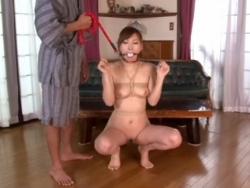 調教され本能の赴くままに性奴隷に変貌していく若妻! - エロ動画 アダルト動画