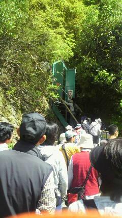 入口の行列