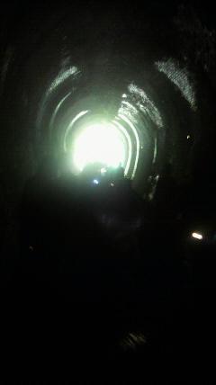 帰りもタイムトンネル