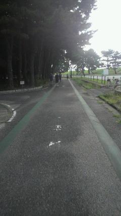 庄内緑地公園2.4km周回コース激走