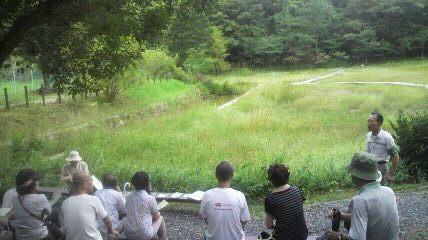 吉賀池湿地一般公開