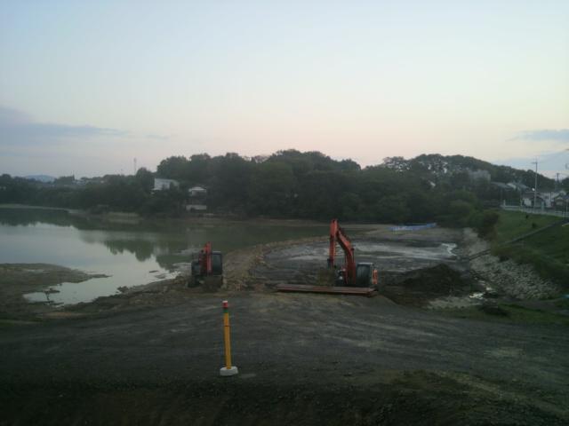 10月27日の濁り池