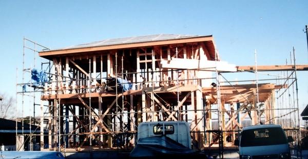 建設・ 新築住宅工事風景