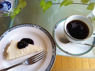 花福ケーキセット