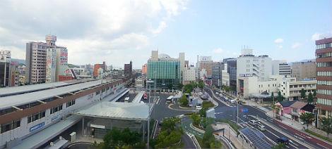 神名火からの景色