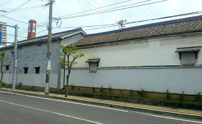 米田酒造の酒蔵