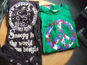 21-7760_Tシャツ イギリスとスヌーピー