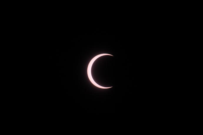 金環日食10