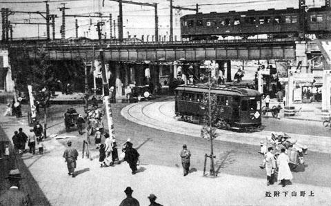 上野山下1932