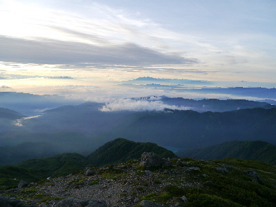 大倉山と御嶽山
