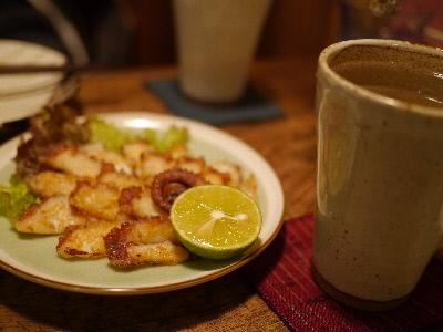 直島タコの香草焼き