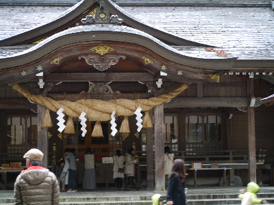 比め神社 本殿
