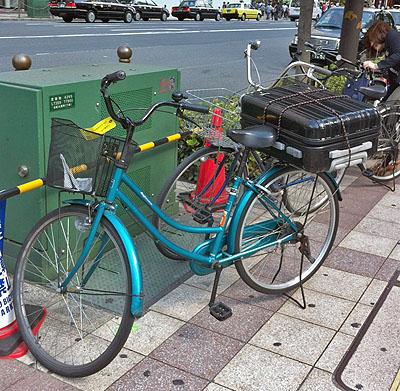 すごい収納力の自転車