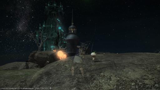 新生14 374日目 綺麗な星空を見ながら釣りにゃ