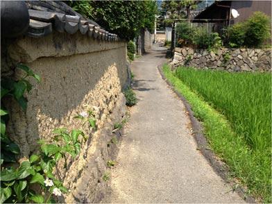 土塀の風景