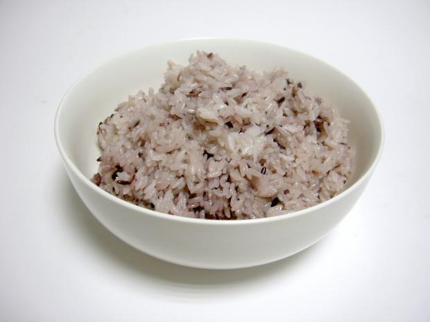 八彩米を炊いてみた
