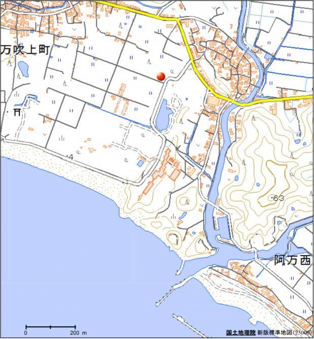 アメダス南淡の所在地