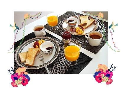 朝食大事!
