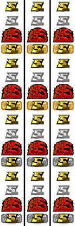 スーパー5 リール配列