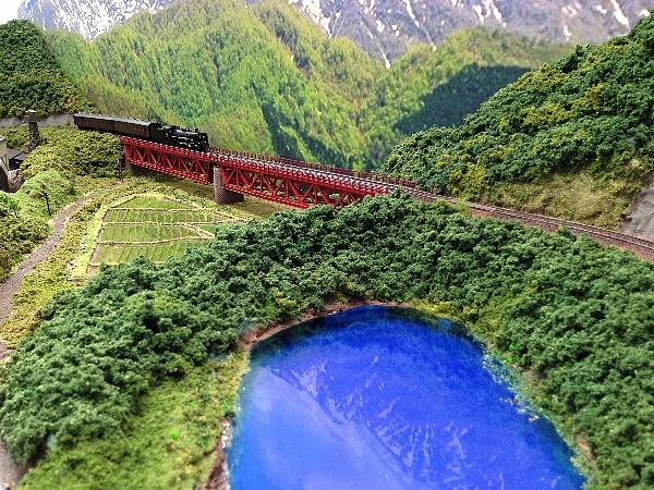 1500鉄道ジオラマの画像