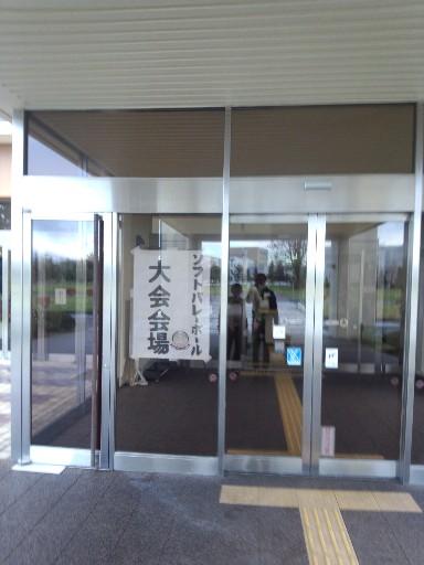 恵庭会場入口