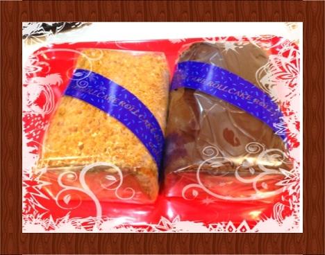 五島軒のロールケーキ