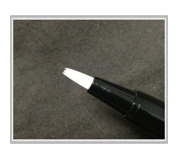 バタフライラッシュの筆
