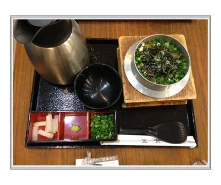 釜寅・豚角煮釜飯