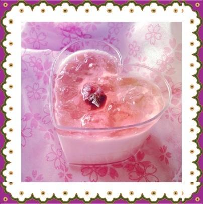 桜のムース